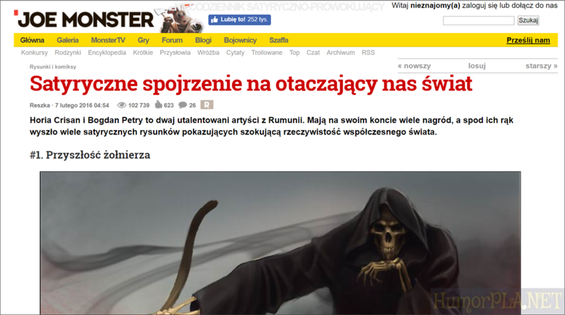 Published in Joe Monster - Poland