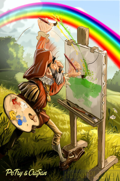 34. Painting (using the rainbow)
