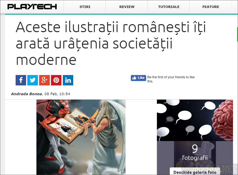 Published in Playtech - Romania