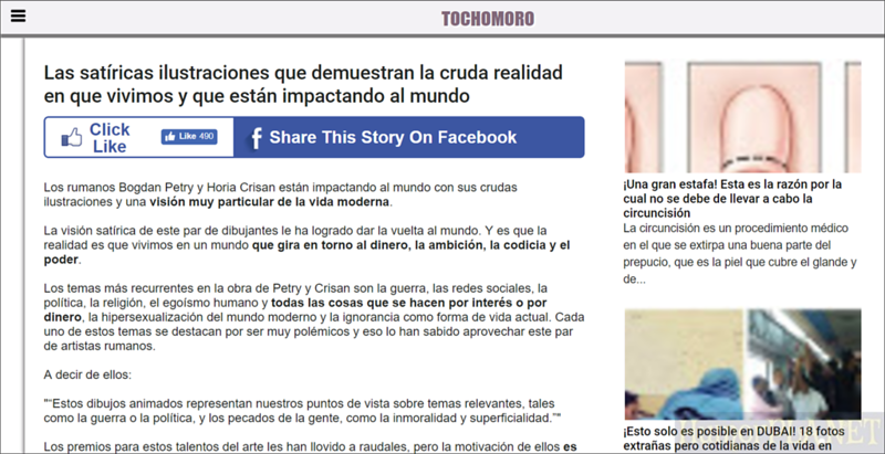 Published in Tochomoro - Spain