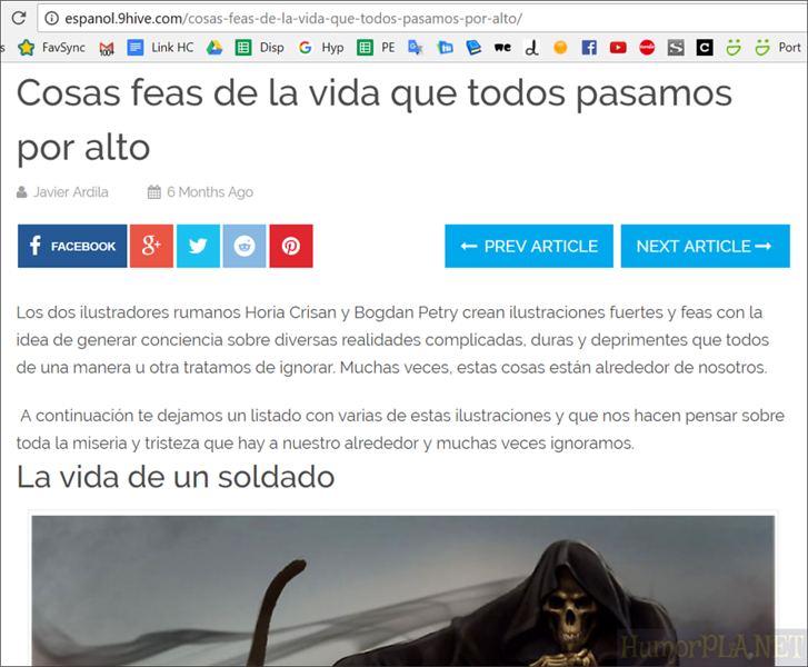 Published in Espanol 9 Hive (Colombia)