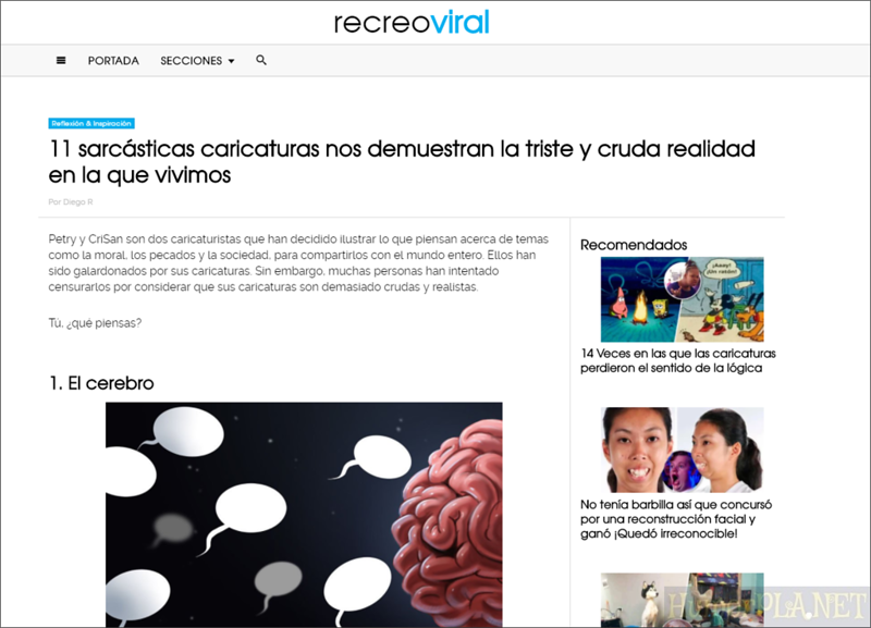Published in Recreo Viral  - Spain
