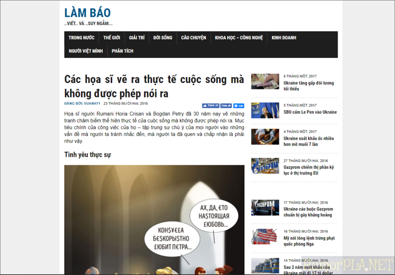 Published in Lam Bao - Vietnam
