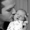 Here is Daddy and his little princess.  I'm glad she has my wife's nose!