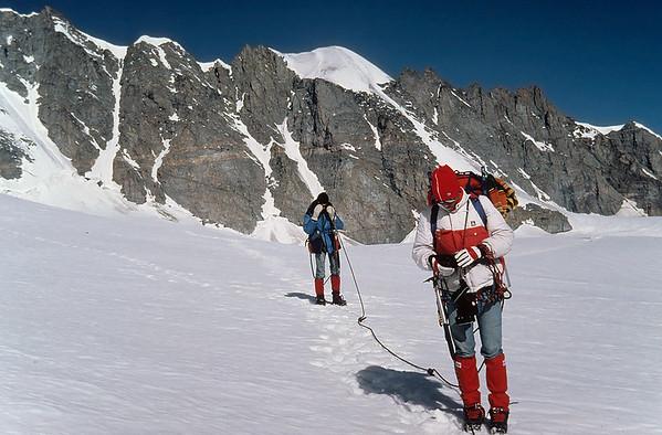 1985: Tribolazione glacier, Gran Paradiso group, Alps