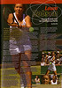 A page from the Hopman Cup Programme, Perth, Australia (2006 onwards)