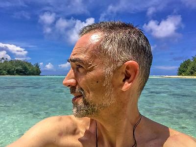 Muri Lagoon, Rarotonga,  Cook Islands, 2018