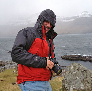 Self portrait, Fær Øer islands, 2013