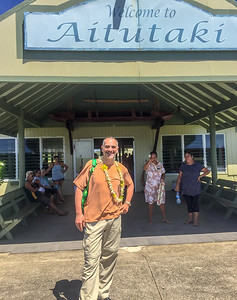 Landed in Aitutaki, Cook Islands, 2018