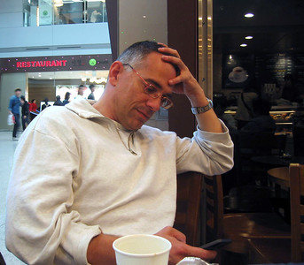 Self portrait at Incheon airport, Seoul, South Korea, 2011