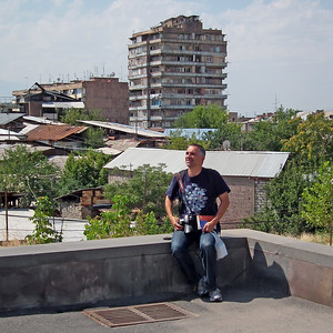 Self portrait at Yerevan, Armenia, 2011