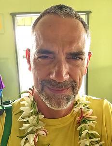 Leaving from Aitutaki, Cook Islands, 2018