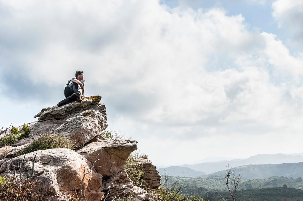 Up the rocks. @Joan Mecadal García