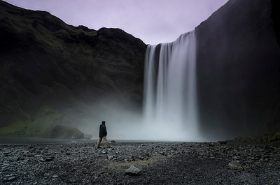 In Skogafoss by Germán Marquès