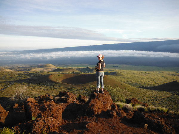 The view from Mauna Kea, HI