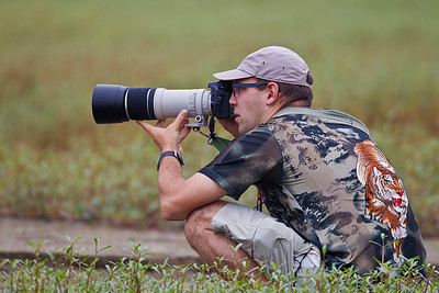 """At work"" with my 400mm Canon, Ayampe, August 2011, Ecuador."