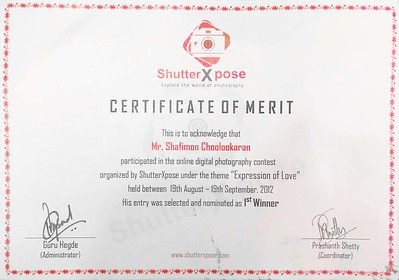 'Expression Of Love' contest 2012 by SHUTTERXPOSE
