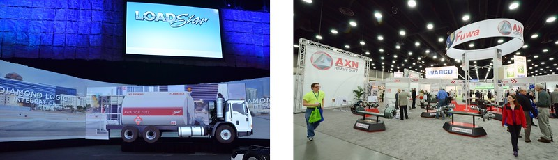 Mid America Trucking Show, Louisville, KY. Many years, many clients.