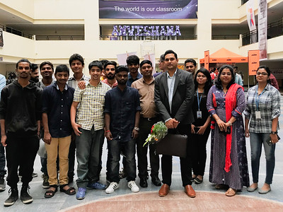 Mentor Talk at Jain University for 2nd Year Filmmaking Students