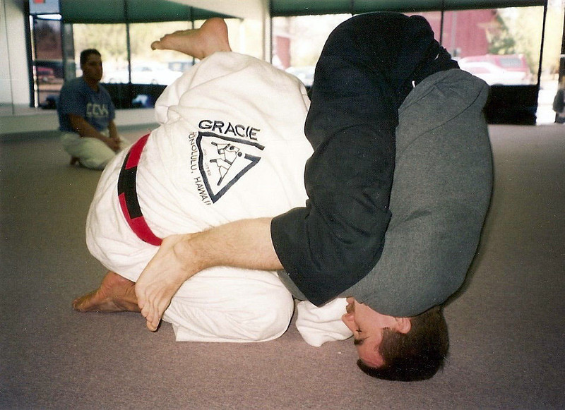 With Relson Gracie