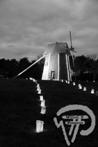 The windmill in Brewster is aglow with holiday lights.  NOVEMBER 2011  HOLIDAY HAPPENINGS • CAPE COD  page 10
