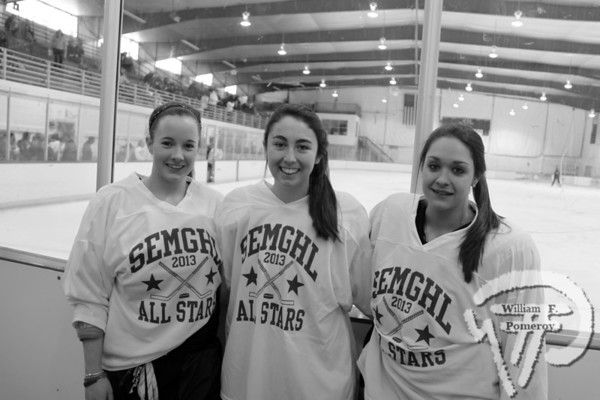 Seen on Scene  Girls Hockey  All-Star game ONLY onlineCommunity Newspaper Company The Cape Codder MARCH 1, 2013page 3