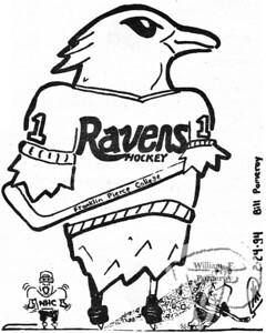 "WEAPONa cartoon:based on the ""sports"" at school.  The Pierce Arrow FEBRUARY 1994"