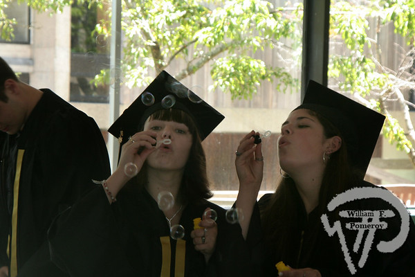 Christie Heilala and Shauna Watson blow bubbles beforethe start of commencement exercises at Nauset graduation. A Photo Salute to the Cape Cod Class of 2008 30 / 35 WickedLocal.com/CapeCod June 12, 2008COMMUNITY NEWSPAPER COMPANY