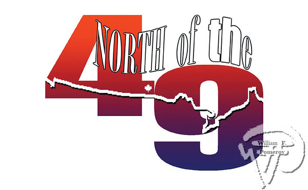 North of the 49th 2004logo designMy Own Damn Radio Network