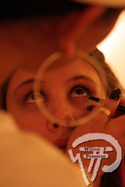 "Makeup artist Vivian de los Santosmakes over Julia Specht to ""Daphne."" Indie film features Orleans landmark photo 4 of 4 WickedLocal.com/CapeCod May 5, 2009COMMUNITY NEWSPAPER COMPANY"