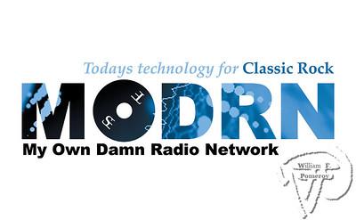 M . O. D . R . N .2003 logo design / catch phraseMy Own Damn Radio Network