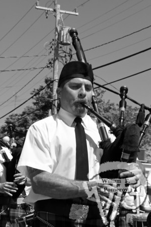 What should a parade be without bagpipers?This musician walks with a piper group in theOrleans parade. The Cape Codder JULY 10, 2009page 13