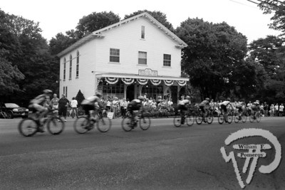 Pan-Mass ChallengePan-Mass riders pass by the Brewster General Store last weekendas part of their fundraising ride to Provincetown. The Cape Codder AUGUST 7, 2009page 34