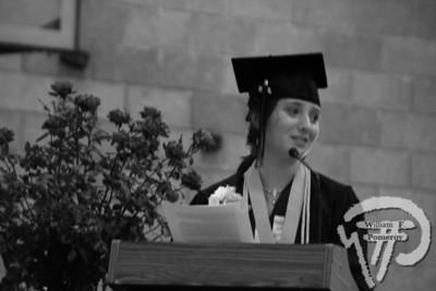 Nauset Regional High School Class of 2008 salutatorianAlexandra Reed addresses fellow graduates at ceremonies Sunday. The Cape Codder JUNE 13, 2008page 14