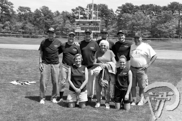 . . . . . . . . . . . PARTING SHOTS The Crowells and the Warners pose for a photoduring the Fred Thacher Memorial Scholarship gameSaturday at Whitehouse Field. The Cape Cod Chronicle JUNE 4, 2009page 55