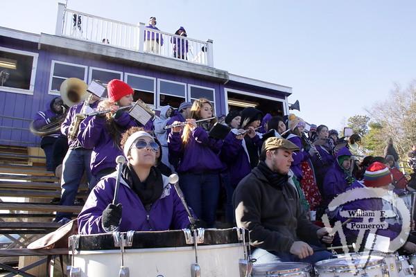 Bourne High School pep band.