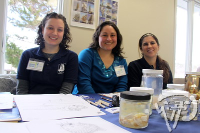 Emily Carruthers, Victoria Smith and Juliana Miller  from Sea Education Association. SEEN ON SCENE:  Science on the Street  at the Cape Cod Museum of Natural History Science on the Street, an interactive science festival  for families, teachers and students took place  at Cape Cod Museum of Natural History  this past Saturday in Brewster.   4 / 14  WickedLocal.com/CapeCod March 25, 2013 COMMUNITY NEWSPAPER COMPANY