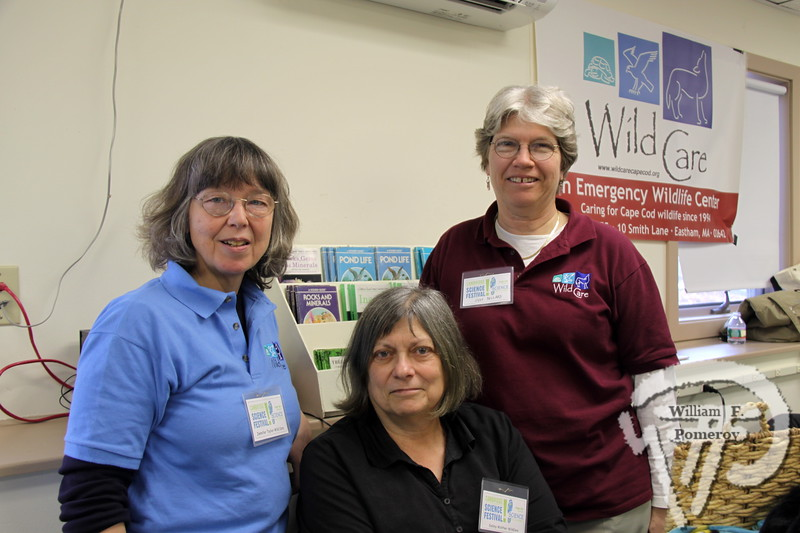 Jennifer Taylor, Debby Walther and Judy Bullard  of Wild Care. SEEN ON SCENE:  Science on the Street  at the Cape Cod Museum of Natural History Science on the Street, an interactive science festival  for families, teachers and students took place  at Cape Cod Museum of Natural History  this past Saturday in Brewster.   12 / 14  WickedLocal.com/CapeCod March 25, 2013 COMMUNITY NEWSPAPER COMPANY