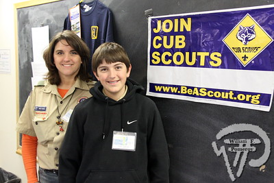 Marlo and Jack George  from Harwich's Boy Scout troop 76. SEEN ON SCENE:  Science on the Street  at the Cape Cod Museum of Natural History Science on the Street, an interactive science festival  for families, teachers and students took place  at Cape Cod Museum of Natural History  this past Saturday in Brewster.   1 / 14  WickedLocal.com/CapeCod March 25, 2013 COMMUNITY NEWSPAPER COMPANY