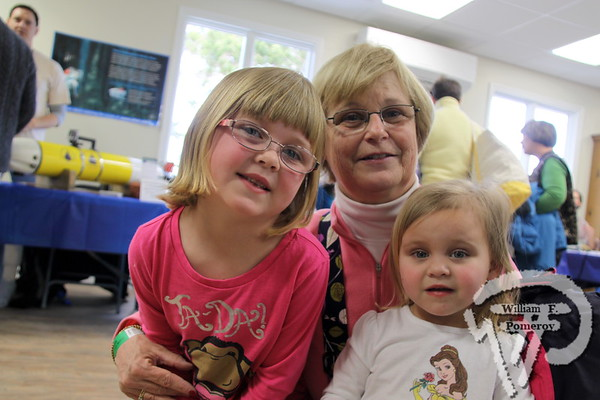 Mary Anne Asper of Chatham  with her granddaughters Ashley and Brooke Anderson from Harwich. SEEN ON SCENE:  Science on the Street  at the Cape Cod Museum of Natural History Science on the Street, an interactive science festival  for families, teachers and students took place  at Cape Cod Museum of Natural History  this past Saturday in Brewster.   14 / 14  WickedLocal.com/CapeCod March 25, 2013 COMMUNITY NEWSPAPER COMPANY