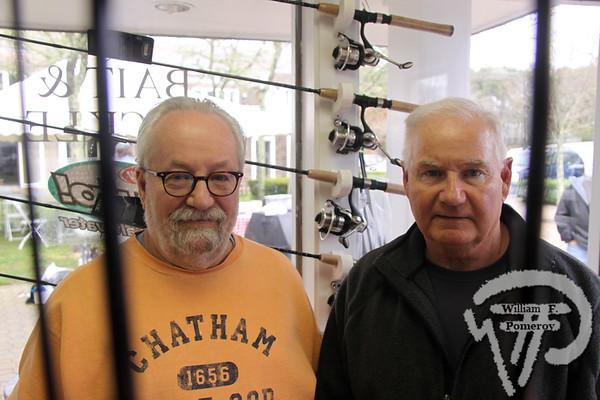 David Morin and Ralph Saunders  of Chatham.