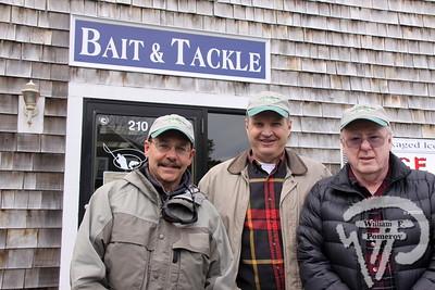Vin Foti, Steve Unsworth plus Richard Hentz  from Cape Cod Flyrodders.