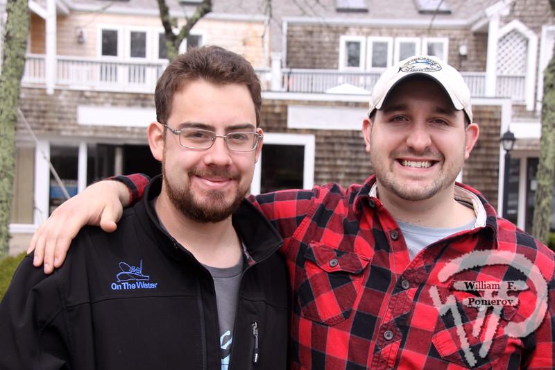 Colin Simonetta and Ryan Bibeau  representatives from On The Water magazine.