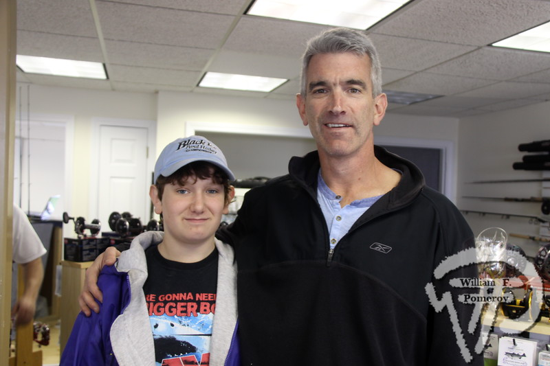Seamus and Dan Flynn  from Woodstock, Conn.