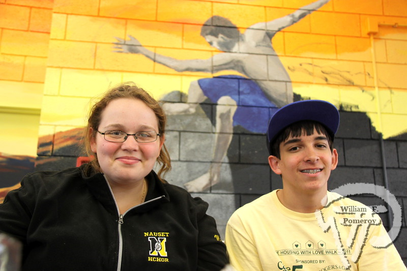 Marjorie and James O'Reilly  man the Nauset Regional High School student council snack bar. SEEN ON SCENE:  Nauset  Job Fair  The 2013 Nauset Job Fair in Eastham attracted over 250 potential  employees while hosting approximately 48 regional employers  while this past Thursday, April 25th. Offering both seasonal  and year-round positions while directly contacting prospective  names within a two-hour window. As an Economic Development  Initiative, the event was co-sponsored and produced by the  local Chambers of Commerce and Nauset Regional High School.   1 of 17  WickedLocal.com/CapeCod April 29, 2013 COMMUNITY NEWSPAPER COMPANY
