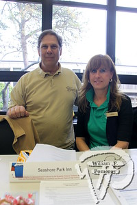 David Ross from Seashore Park Inn  plus Laura Studley to The Governor Prence Inn. SEEN ON SCENE:  Nauset  Job Fair  The 2013 Nauset Job Fair in Eastham attracted over 250 potential  employees while hosting approximately 48 regional employers  while this past Thursday, April 25th. Offering both seasonal  and year-round positions while directly contacting prospective  names within a two-hour window. As an Economic Development  Initiative, the event was co-sponsored and produced by the  local Chambers of Commerce and Nauset Regional High School.   3 of 17  WickedLocal.com/CapeCod April 29, 2013 COMMUNITY NEWSPAPER COMPANY