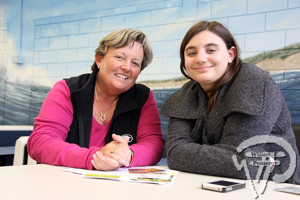Teacher Mae Timmons  along with student Sara Freedman. SEEN ON SCENE:  Nauset  Job Fair  The 2013 Nauset Job Fair in Eastham attracted over 250 potential  employees while hosting approximately 48 regional employers  while this past Thursday, April 25th. Offering both seasonal  and year-round positions while directly contacting prospective  names within a two-hour window. As an Economic Development  Initiative, the event was co-sponsored and produced by the  local Chambers of Commerce and Nauset Regional High School.   2 of 17  WickedLocal.com/CapeCod April 29, 2013 COMMUNITY NEWSPAPER COMPANY