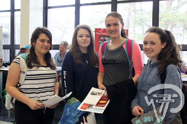 Nauset Regional High School students  Danielle Geheb, Courtney O'Brien, Lara Bogdanovich and Holly O'Brien. SEEN ON SCENE:  Nauset  Job Fair  The 2013 Nauset Job Fair in Eastham attracted over 250 potential  employees while hosting approximately 48 regional employers  while this past Thursday, April 25th. Offering both seasonal  and year-round positions while directly contacting prospective  names within a two-hour window. As an Economic Development  Initiative, the event was co-sponsored and produced by the  local Chambers of Commerce and Nauset Regional High School.   4 of 17  WickedLocal.com/CapeCod April 29, 2013 COMMUNITY NEWSPAPER COMPANY
