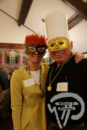 Kim and Tom Breen  from Harwich. SEEN ON SCENE:  Mardi Gras Party  The Chatham Harwich Newcomers Club defied the weather on Sunday, February 10,  and held a Mardi Gras Party at The Christ Episcopal Church in Harwich Port.  Great fun  was had by all as they shared their recent experiences with super storm Nemo.  Chatham  Harwich Newcomers established in 1978, has been a haven for folks in the two towns  to expand their network of social friends and gather more than 20 individual activities.   The Club currently has 450 members and lives by the motto:  We Volunteer - We Contribute  - We Have Fun.  See us on the web at  Chatham-Harwich Newcomers Club   8 / 13   WickedLocal.com/CapeCod February 13, 2013 COMMUNITY NEWSPAPER COMPANY