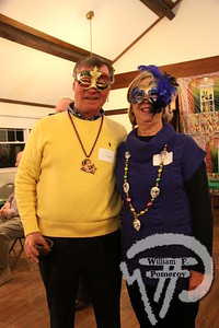 Rich and Judi Clifford  of Chatham. SEEN ON SCENE:  Mardi Gras Party  The Chatham Harwich Newcomers Club defied the weather on Sunday, February 10,  and held a Mardi Gras Party at The Christ Episcopal Church in Harwich Port.  Great fun  was had by all as they shared their recent experiences with super storm Nemo.  Chatham  Harwich Newcomers established in 1978, has been a haven for folks in the two towns  to expand their network of social friends and gather more than 20 individual activities.   The Club currently has 450 members and lives by the motto:  We Volunteer - We Contribute  - We Have Fun.  See us on the web at  Chatham-Harwich Newcomers Club   11 / 13   WickedLocal.com/CapeCod February 13, 2013 COMMUNITY NEWSPAPER COMPANY